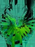 abstraktion Abstrakt begrepp målning bild textur texturerat unikhet _ abstractionism texturer färgrikt färger Grap Arkivfoton