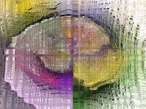 abstraktion Abstrakt begrepp textur texturerat unikhet _ abstractionism texturer Arkivbilder