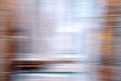 Abstraktion auf langer Belichtung in der Farbe Lizenzfreie Stockfotografie