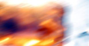 Abstraktion auf langer Belichtung in der Farbe Stockfoto