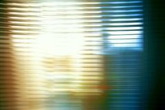 Abstraktion auf langer Belichtung in der Farbe Stockfotografie