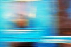 Abstraktion auf langer Belichtung in der Farbe Stockbilder