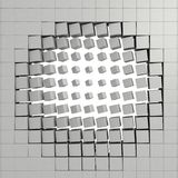 abstraktion 3d Arkivbild