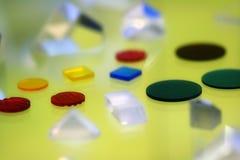Abstraktion der Farbe und des Formulars Lizenzfreie Stockbilder