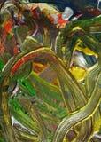 Abstraktion der flüssigen bunten hypnotischen Farbe Aquarellfarben-Zusammenfassungshintergrund Stockfotografie