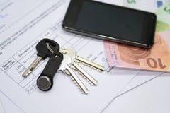 Abstraktion des Eigentumskaufens Lizenzfreie Stockfotos