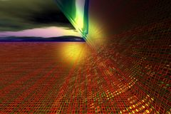 abstraktion digital iii Arkivbilder