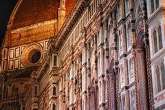 Abstraktion einer berühmten Wand Stockbild