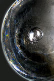 Abstraktion eines Stückes Eises Lizenzfreies Stockfoto