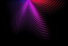 abstraktion färgad swirl Royaltyfri Fotografi