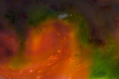 Abstraktion, Hintergründe, Raum, Farben, Illustration, die Farbe, vibrierend, tapezieren, färben, hell, Himmel Lizenzfreies Stockbild