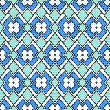 Abstraktion im Blau Stockfoto
