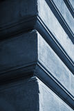 Abstraktion im Blau Lizenzfreie Stockfotos