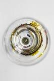 Abstraktion im Glas Lizenzfreies Stockfoto