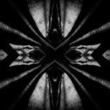 Abstraktion im Wald, ein Spiel des Lichtes und Schatten II Stockfoto