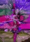 Abstraktion innen graphik Anstrich Auszug Kunst abbildung Entwurf lizenzfreie stockfotografie