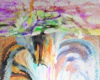 Abstraktion innen graphik Anstrich Auszug Kunst abbildung Entwurf stockfotografie