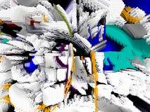 Abstraktion innen graphik Anstrich Auszug Kunst abbildung Entwurf stockfotos