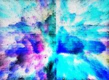 Abstraktion innen graphik Anstrich Auszug Kunst abbildung Entwurf lizenzfreie stockfotos