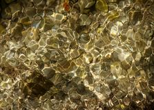 Abstraktion Lebendes Wasser Stockbild