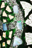 Abstraktion mit Einbeziehungen des Natursteins Lizenzfreie Stockfotografie