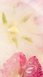 Abstraktion mit schönen Blumentulpen Stockbild