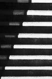 Abstraktion mit Schatten auf Treppenschritten Stockfotos