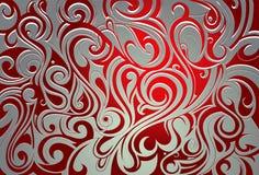 Abstraktion mit Strudeln Lizenzfreies Stockbild