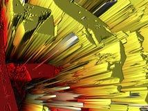Abstraktion Schön und festlich Farbiger Stern Schwarzer Hintergrund stockbilder