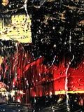 Abstraktion som målar bakgrund stock illustrationer