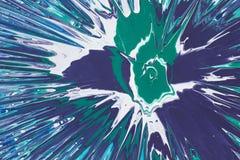 Abstraktion Sprühfarbe auf einer Pappe Lizenzfreie Stockfotografie