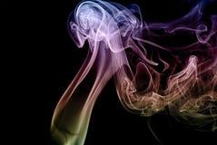 Abstraktion und Rauch Lizenzfreie Stockfotografie