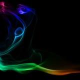 Abstraktion und Rauch Stockfotografie