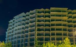 Abstraktion Unfertiges Gebäude Stockbild