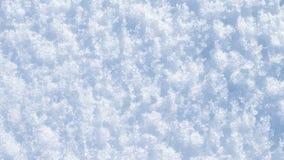 Abstraktion vom losen Schnee Stockfotos
