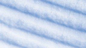 Abstraktion vom Schnee mit Streifen Lizenzfreie Stockfotografie