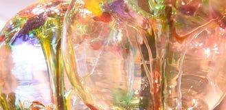 Abstraktion von dekorativen Birnen Lizenzfreies Stockfoto