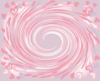 Abstraktion von den Herzen Lizenzfreies Stockbild