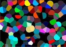 Abstraktion von Farben lacke Oder Moleküle Oder Süßigkeit Stockfotografie