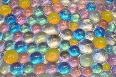 Abstraktion von farbigen Bällen Stockbilder