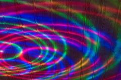Abstraktion von farbigen Kreisen Lizenzfreies Stockfoto