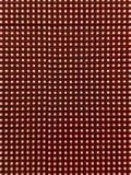 Abstraktion von roten Kreisen auf schwarzem Hintergrund Lizenzfreies Stockfoto