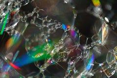 Abstraktion von Seifenblasen Stockbilder