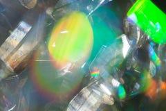 Abstraktion von Seifenblasen Stockbild
