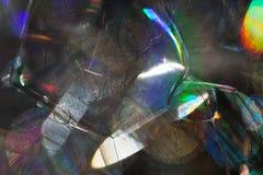 Abstraktion von Seifenblasen Lizenzfreies Stockfoto