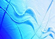 Abstraktion - Zeilen auf Eis Stockbilder