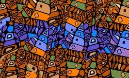 abstraktionafrikan Royaltyfri Fotografi