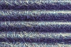 Abstraktionen av blå textolite kritiserar, glasfiber, blå bakgrund royaltyfri foto