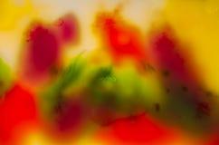 Abstraktionen bakgrunder, utrymme, färger, illustrationen, målarfärg som är vibrerande, tapetserar, färgar, ljust, himmel Arkivbild