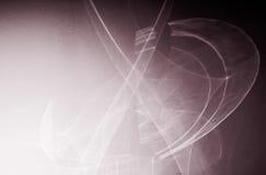 Abstraktionen gezeichnet durch Licht Lizenzfreies Stockbild